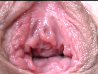 gaping close-up